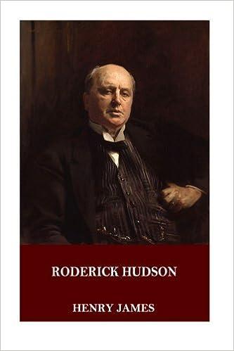 Book Roderick Hudson