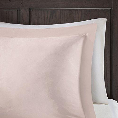 Madison Park Sarasota Microcell Down Alternative Comforter Mini Set Blush King/Cal King
