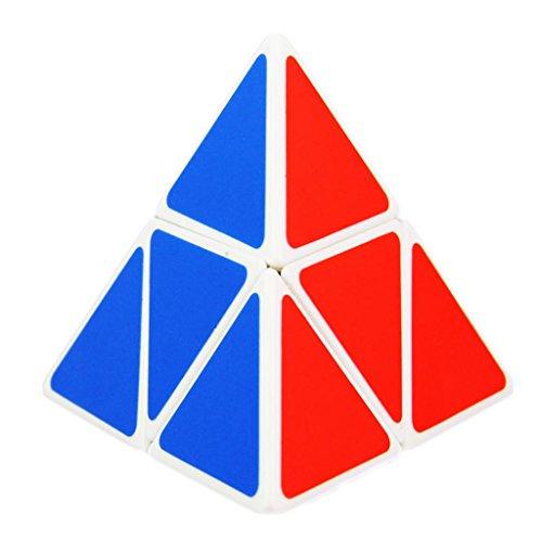La Tartelette 2×2 Triangle Pyramid Pyraminx Magic Puzzle Cube (White)
