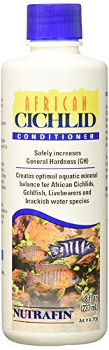 African Cichlid Water Hardness (Nutrafin African Cichlid Conditioner, 8 oz)