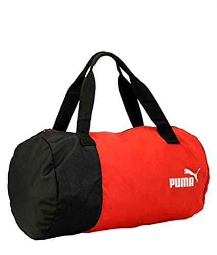 d81f81223153 Buy PUMA SPORTS GYM KIT BAG RED BLACK Online at Low Prices in India -  Amazon.in