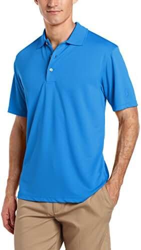 PGA TOUR Men's Short Sleeve Airflux Solid Polo