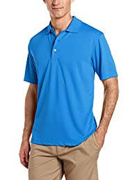 Men's Short Sleeve Airflux Solid Polo