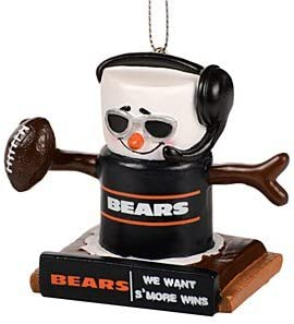 ded18a3fc Amazon.com   FOCO NFL Chicago Bears Thematic Smores Ornamentthematic ...
