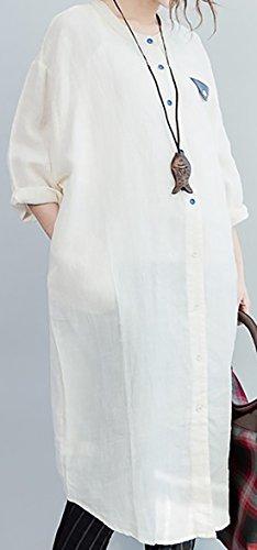 erdbeerloft - Vestido - Opaco - para mujer albaricoque