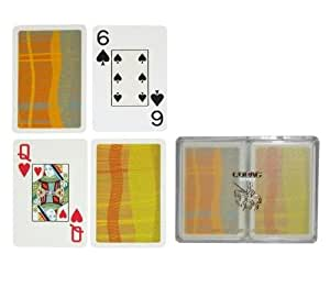 Copag Silver Series Bridge Size Playing Cards (Geometric)