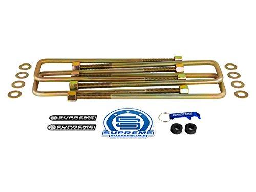 Length Suspension - Supreme Suspensions - OEM Spec Zinc-Plated Extended U-Bolts 14