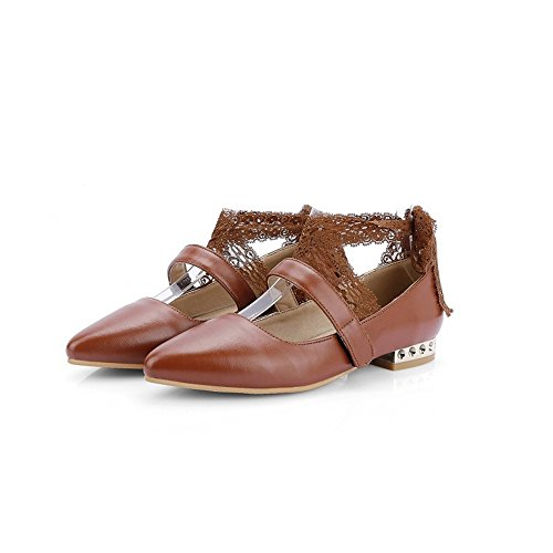 Flat Brown Comfort Cute Women's Ballet Shoe Casual xiaoyang AvBqx