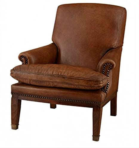Chesterfield Luxury Leather Armchair Chair Ireland Vintage Leather