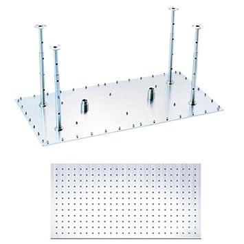 rectangular rain shower head. JiaYouJia 16 quot x32  Rectangle 304 Stainless Steel Ceiling Rain Shower Head