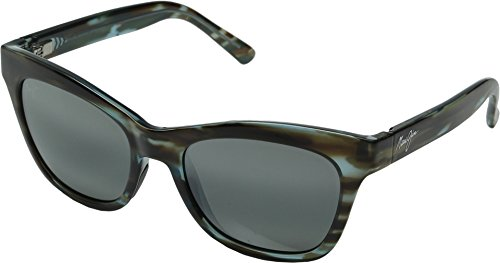 Maui Jim Sweet Leilani Polarized Sunglasses - Women's Brown Aquamarine / Neutral Grey One - Faces Sunglasses Jim Best For Round Maui