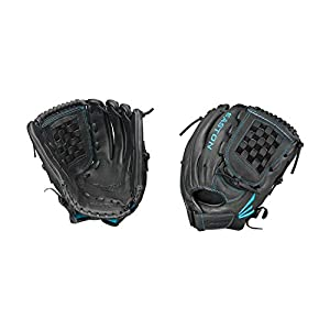 EASTON BLACK PEARL Fastpitch Softball Glove Series, Female Athlete Design, Select Cowhide Leather, Flex Notch For Easy…