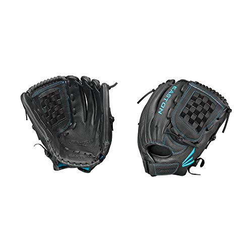 Easton Black Pearl Fastpitch Series Baseball Glove, Right Hand Throw, 12.5
