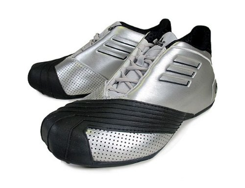 adidas T Mac 1 (Tracy Mc Grady Retro: All Star Game 2002) Silver/Black (9.5) ()