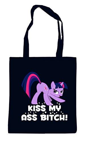 My Kiss Ass Black Pony Bag azwCwq80