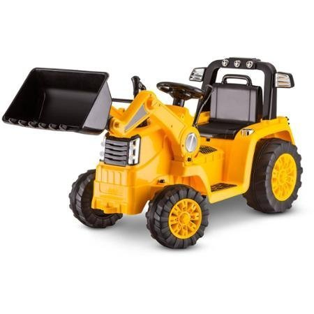 Cat Bulldozer - Kidtrax CAT Bulldozer/Tractor 6V Battery Powered Ride-On, Yellow by Kid Trax