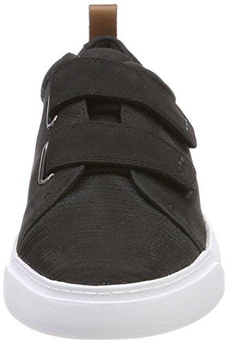 Clarks Damen Handschoen Daisy Sneaker Schwarz (zwart Combi Nbk)