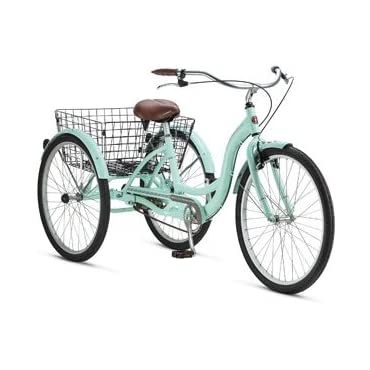 Schwinn Meridian 26 Adult Tricycle (Green Mint)
