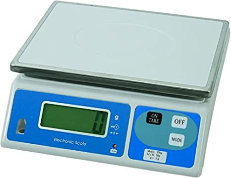 WAS 2505015 ELEC tronik - Báscula Digital - hasta 15 kg: Amazon.es: Hogar