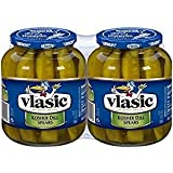 Vlasic Kosher Dill Spear Pickles, 32 oz., 2 ct.
