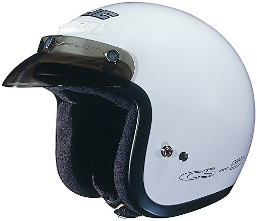 HJC CS-5 CS5 CRUISERn White Size:XSM Motorcycle Open-face-helmet