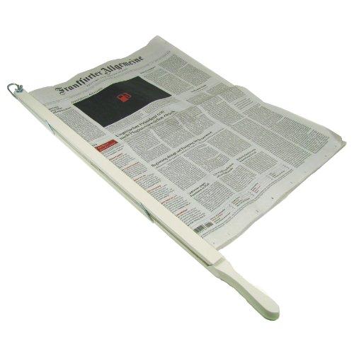 Zeitungshalter Landhausstil Weiss Seidenglanz
