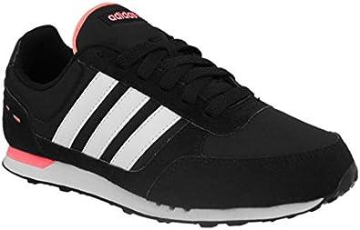 adidas City Racer W - Zapatillas Deportivas para niña, Color Negro/Blanco/Rosa, Talla 36: Amazon.es: Zapatos y complementos