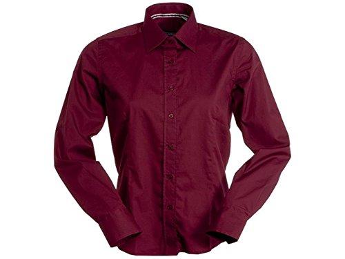 ATELIER DEL RICAMO - Camisa deportiva - para mujer burdeos
