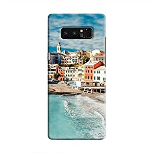 Cover It Up - Beach Town Galaxy Note 8 Hard Case