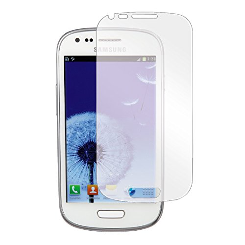 Hama Displayschutzfolie für Samsung Galaxy S3 mini, 2er Set, einfache Anbringung, Ultra-HD Qualität, passgenauer Präzisions-Laser-Cut inkl. antistatischem Mikrofasertuch
