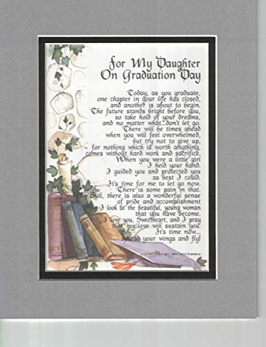(for My Daughter on Graduation Day, 139, A Graduation Gift Poem Present.)