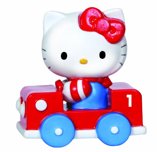 Precious Moments Hello Kitty Train Car Number 1 Figurine