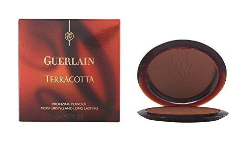 Light Cotta Guerlain Terra Powder Bronzing (Guerlain Terracotta Bronzing Powder, No. 05 Brunettes, 0.35 Ounce)