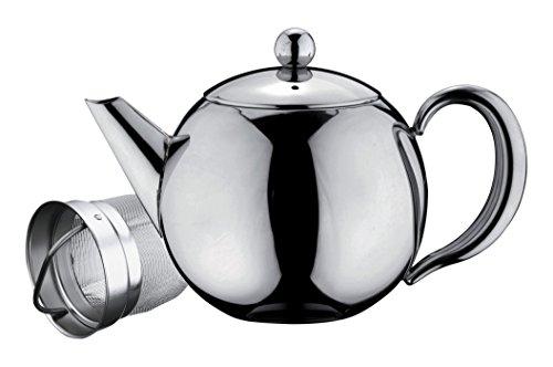 Tetera de acero inoxidable Belmont, acero inoxidable, Stainless Steel Handle, 500 ml