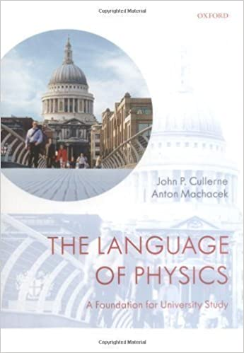 The language of physics: a foundation for university study
