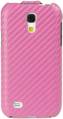 Melkco Funda de Fibra de Carbono de Funda de Piel para Samsung Galaxy S4 Mini gti9190/S4 Mini Duos gti9192/S4 Mini LTE GTI9195: Amazon.es: Electrónica