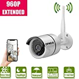 Wireless Security Camera Extend,960P Full HD Home Surveillance IR LED Camera Extend for OHWOAI WiFi Kit,Indoors&Outdoors IP Camera with Weatherproof/Night Vision,Work for OHWOAI.