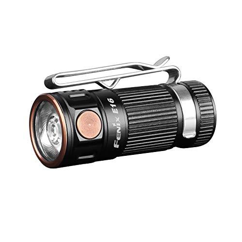 Fenix E16 Mini EDC – Linterna con Salida Grande