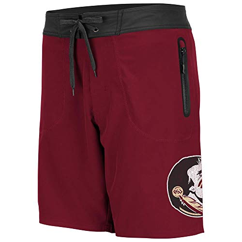 Colosseum Mens Florida State Seminoles Lahaina Swim Shorts - XL