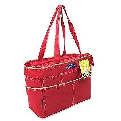 2 tlg bebé Colour rojo bolsa cambiador con accesorios bolsa ...