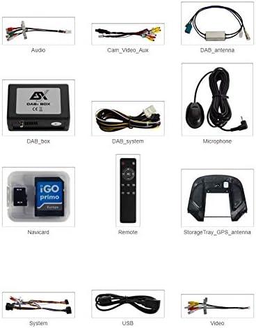 Vision VNC1045 DBJ DAB+ ESX Navigationssystem