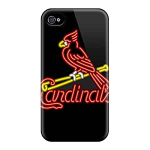 Hot TcS3424tOqf St. Louis Cardinals Tpu Case Cover Compatible With Iphone 4/4s