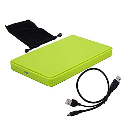 Aubess - Carcasa para disco duro SATA HD para disco duro USB ...
