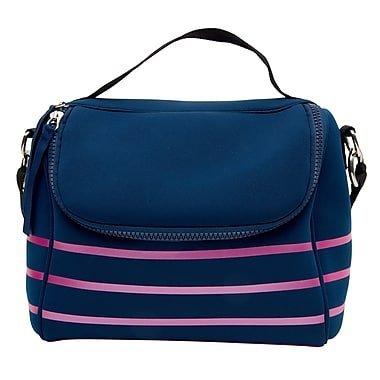 Rowley Stripes - Cynthia Rowley Lunch Bag Multi Navy