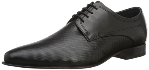 Daniel Hechter Hb24081 Uomini Derby Lace Up Brogue Nero (il Nero 100)