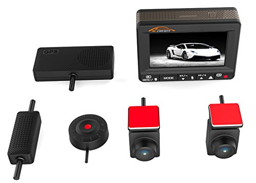 KOONLUNG Mini K1S 1080P Car DVR Dash Camcorder ,160° Wide Viewing Digital Car Video , HDR Night Vision Car Video Record, Road Camera Recorder ,Dual Camera Car Driving Records.Contain 64GB Memory Card by KOONLUNG