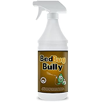 Bed Bug Killer & Prevention - Certified By AAES & Pesticide Exempt By EPA - Natural Bed Bug Spray Used By Professionals - Child Safe & Pet Safe - 32 oz