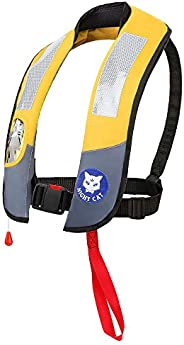 [CE Approved] Night Cat Life Jackets Vests Inflatable Survival Preservers Lifesaving PFD Lightweight Premium Q