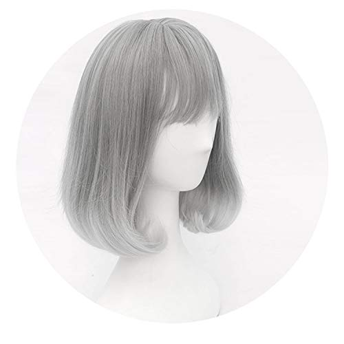 Purple gradient pink Synthetic Hair Cosplay Wig lolita wig Costume Play,5039C