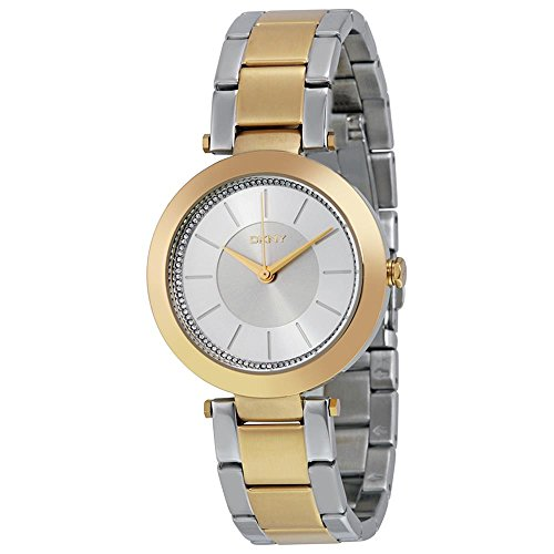 DKNY NY2334 Ladies Stanhope 2.0 Two Tone Gold Plated Watch